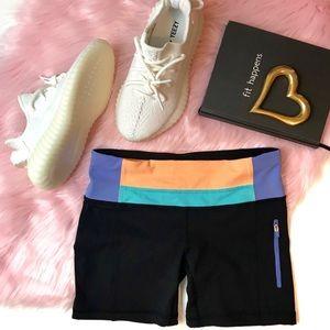 Lululemon Luxtreme Tight Spandex Groove Shorts